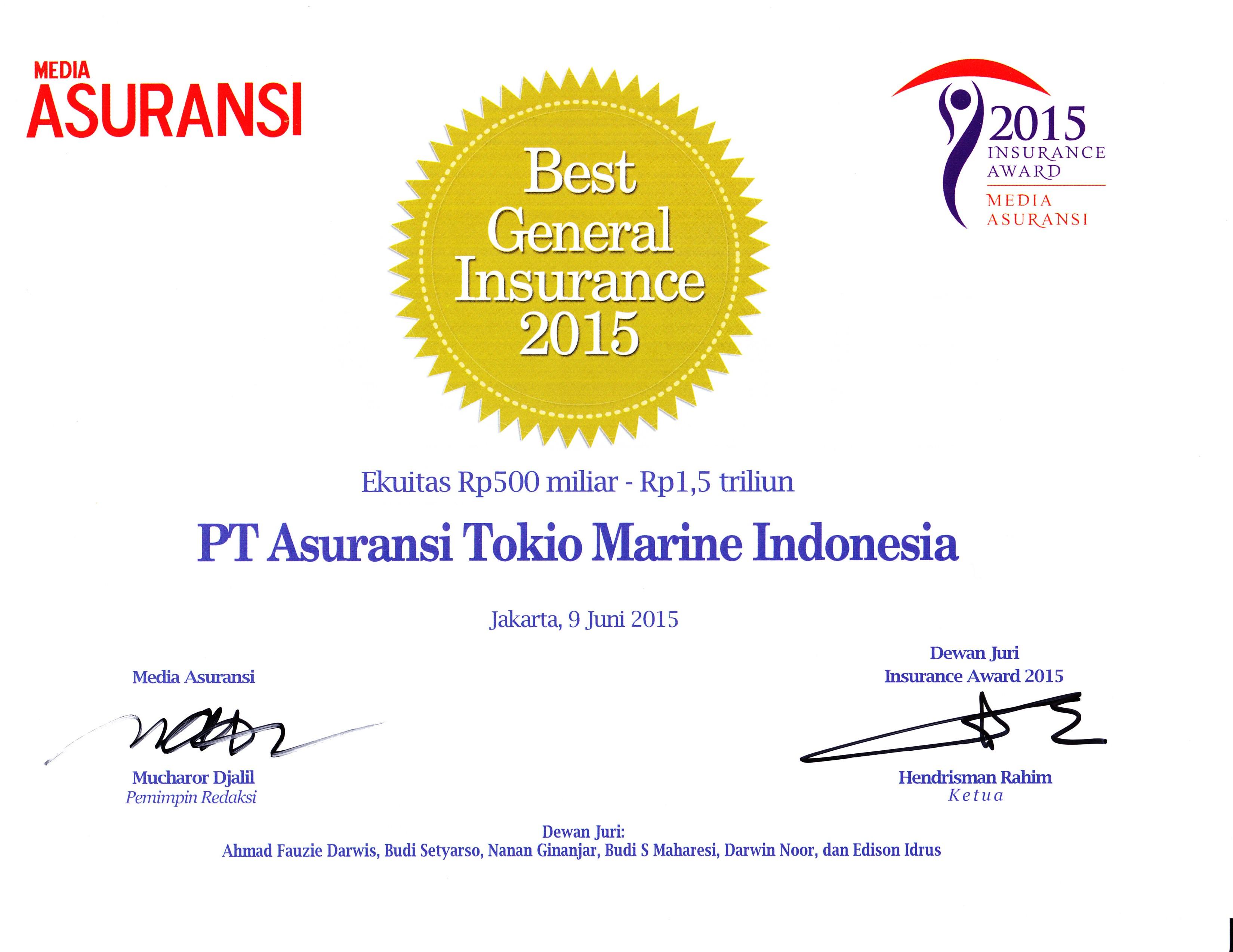 General Insurance Tokio Marine Malaysia An Insurance Company